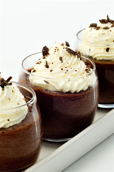 thick and chocolate pudding dessert recipe decadent dessert recipes
