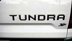 Top best 5 toyota tundra decals for sale 2016 product for Toyota tundra letter inserts