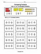 Comparing Fractions Worksheets Google Search Teaching Aids Comparing Fractions With Like Denominators Worksheet Free Worksheets Comparing Fractions And Worksheet Preview Comparing Fractions