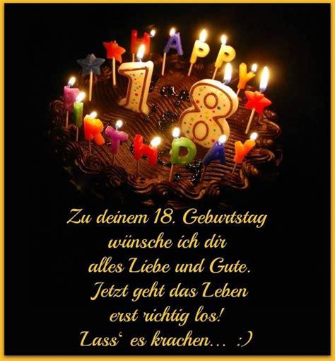 gute geburtstagsgeschenke zum 18 zu deinem 18 geburtstag w 252 nsche ich dir alles liebe und gute happy birthday