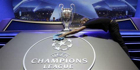 champions league  sorteggi  diretta tv