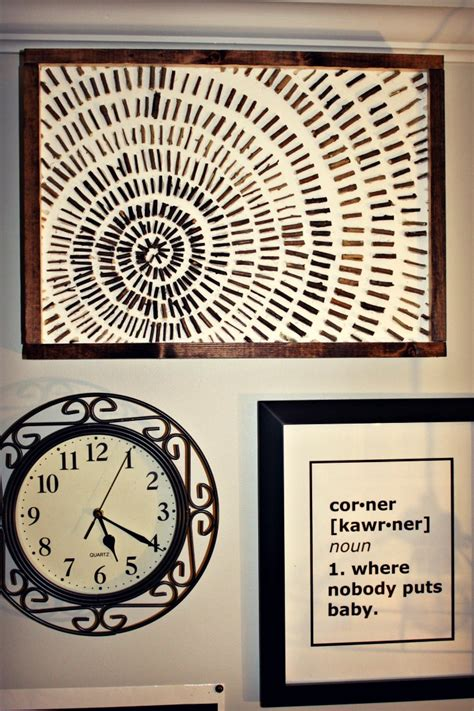 This easy diy craft is easy and budget friendly with things you can pick up from your local dollar tree or hobby store. Rustic Wall Decor custom creative natural materials