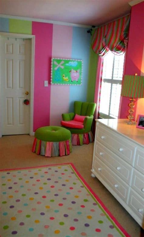 Kinderzimmer Mädchen Streifen by Kinderzimmer Streichen 20 Bunte Dekoideen