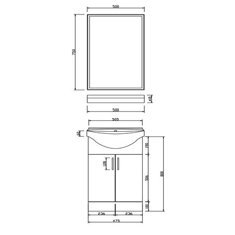 bathroom vanity unit basin sink storage cabinet