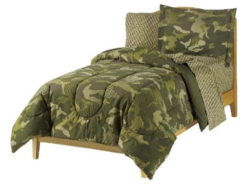 awardpedia dream factory geo camo army boys comforter