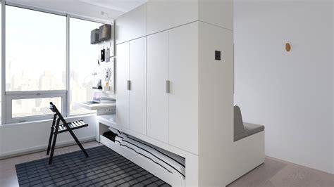 ikea rognan robotic space saving furniture  small homes