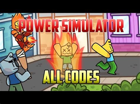 power simulator codes roblox codes check