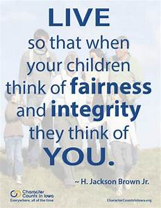 Quotes On Character Counts Fairness. QuotesGram
