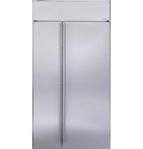 zissnrss ge monogram  built  side  side refrigerator monogram appliances
