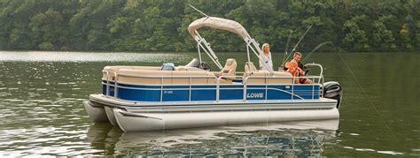 Fishing Seats For Lowe Boat by 2017 Sf232 Fishing Pontoon Boat Lowe Boats