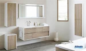 Meubles salle de bains bois Sanijura My Lodge Espace Aubade