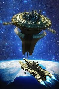 concept ships: Concept space scenes by Henry Pashkov