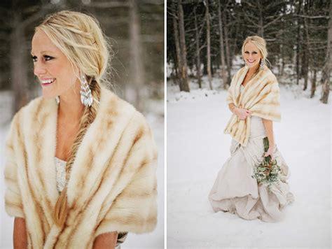 snowy winter wedding kezia ashton green wedding shoes