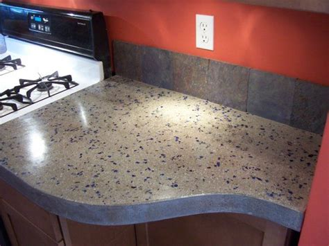 concrete countertops diy concrete countertops for the kitchen a solid surface on