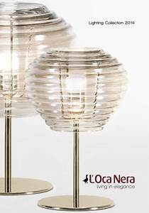 l39oca nera lighting collection 2014 by columbus italia issuu With l oca nera table lamp
