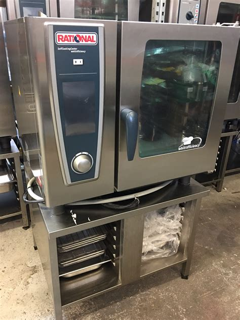 Rational Scc 61 Rational Scc 61 We 6 Grid Electric Oven 3 Phase 2012 Model Used Rational Catering Equipment