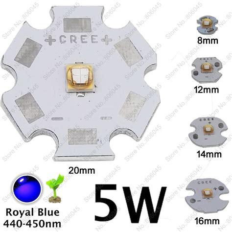 Pirkt 10x 5w lg3535 augstas jaudas led apgaismojumu emisijas diode royal blue 450 nm - 455nm ar ...
