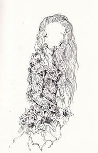 Tumblr Girl Drawing - Flower Girl Images, Pictures, Photos ...