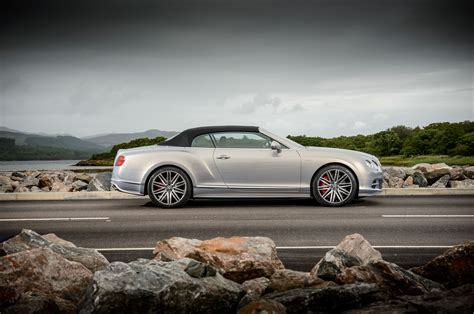 2018 Bentley Continental Gt Speed Convertible Side Profile