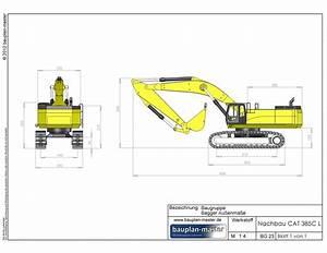 Maßstab Berechnen Modellbau : modellbauplan cat 385c l im ma stab 1 16 bauplan master ~ Themetempest.com Abrechnung