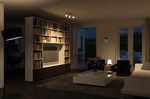 Eclairage Salon Sejour : eclairage led les bonnes raisons de l 39 adopter darty vous ~ Melissatoandfro.com Idées de Décoration