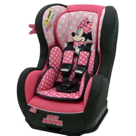 siege lune minnie nania cosmo sp car seat minnie mouse pink