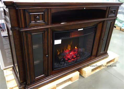 electric fireplace costco costco clearance well universal 72 quot electric fireplace