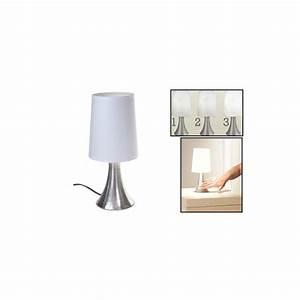 """Lampe de chevet tactile Touch """"Turin"""""""