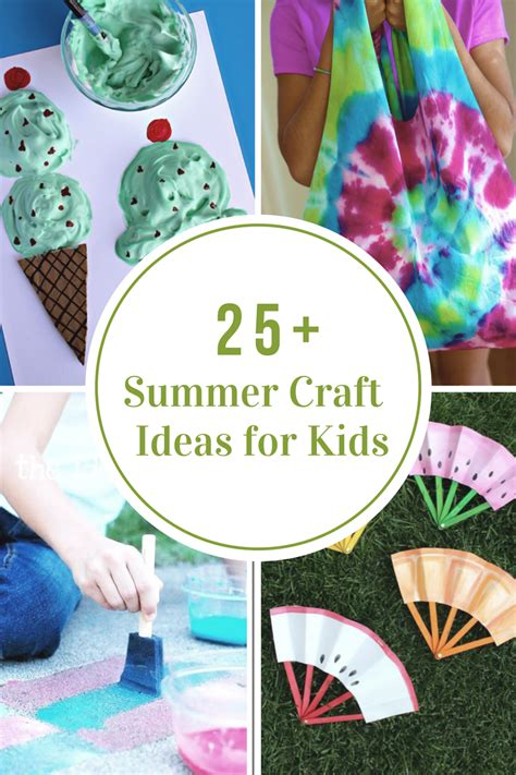 40 creative summer crafts for that are really 414 | 25 Creative summer craft ideas