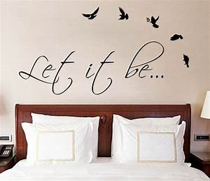 Wall decal good look guest room wall decals wall art for for Good look guest room wall decals