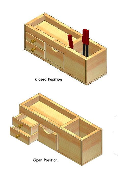 wood desk organizer plans     seeking