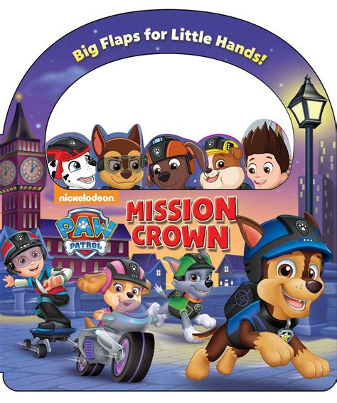 nickelodeon paw patrol mission crown book  megan
