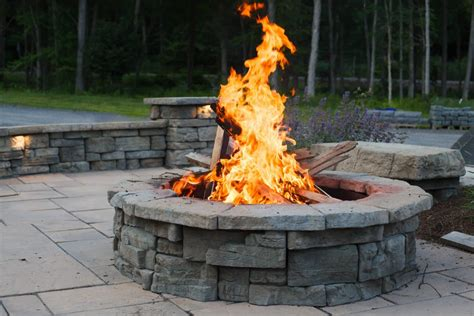 Outdoor Fire Pits  How Much Does A Stone Fire Pit Cost