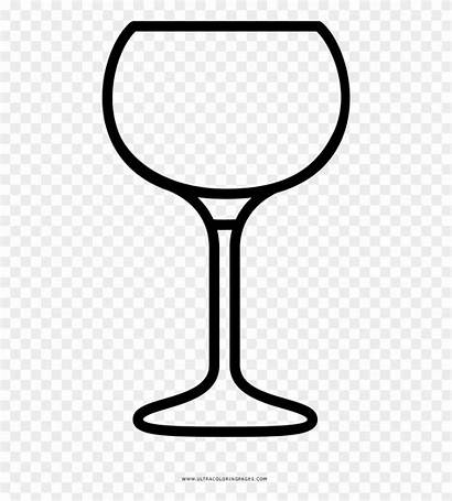 Wine Glass Coloring Clipart Webstockreview Pinclipart
