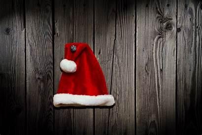Hat Santa Christmas Background 4k Wallpapers Wall