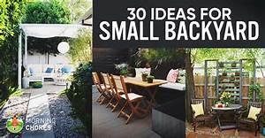 30 Small Backyard Ideas That Will Make Your Backyard Look Big