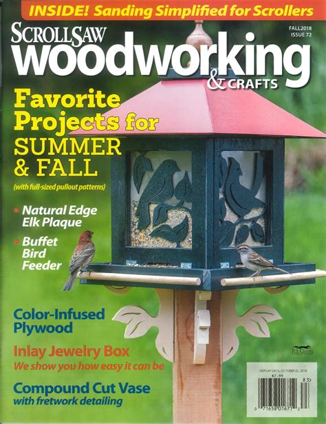scrollsaw woodworking crafts magazine subscribe gmc