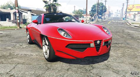 Alfa Romeo Disco Volante 2013 Alfa Romeo Disco Volante 2013 Add On For Gta 5