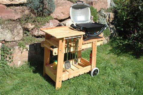 grilltisch selber bauen grillwagen selber bauen