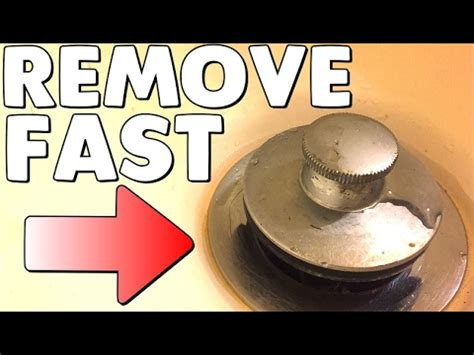 How To Remove Tub Drain how to remove a pop up bathtub drain stopper no