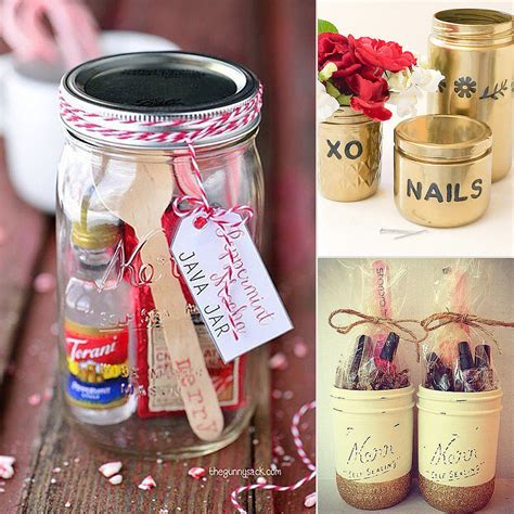 diy jar gifts homemade new years gift ideas modern magazin
