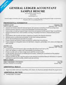 resume format for cost accountants association in united general ledger accountant resume sles across all industries pinterest general ledger