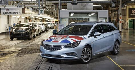 Ellesmere Portmade Vauxhall Astra Wins Car Of The Year In
