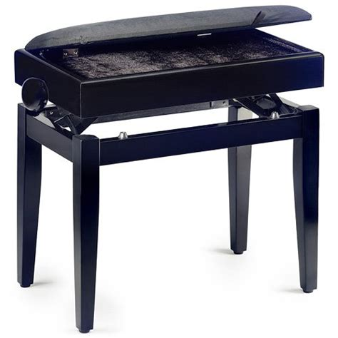 Stagg Banquette Piano by Stagg 057584 Banquette De Piano Noir Mat Piano Buy