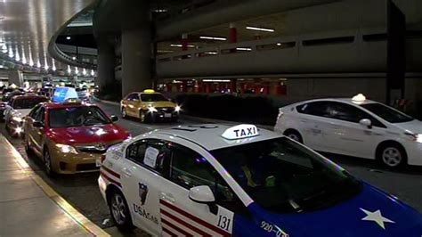 Taxi Cab Protest Against Uber And Lyft Creates Traffic Jam