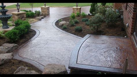 decorative curb and concrete decorative curb and concrete