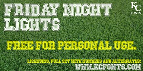 friday night lights font friday night lights font dafont com