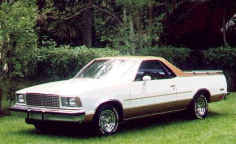 1978 El Camino Specs by 1978 Chevrolet El Camino Technical Specifications And Data