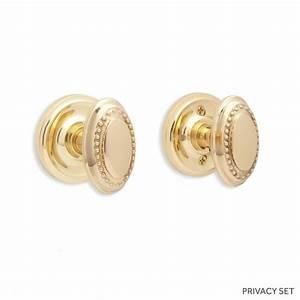 Marwick Oval Solid Bronze Knob Set