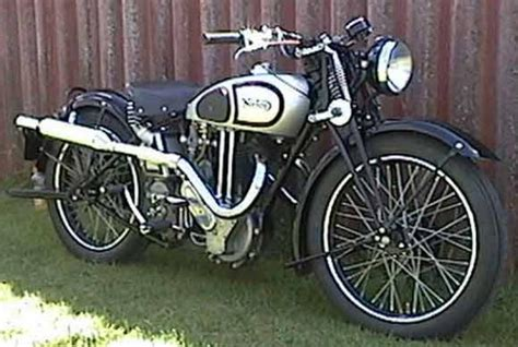 1935 Norton Model 20 Classic Motorcycle Pictures